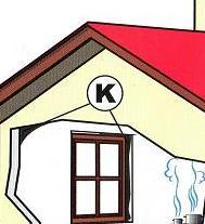 humidité dans une maison – type K